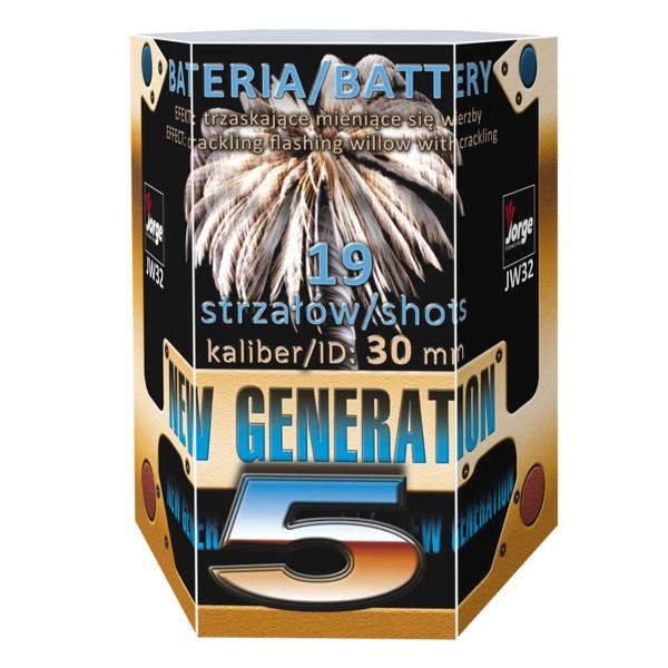 New Generation 5 Batteriefeuerwerk Jorge Feuerwerk