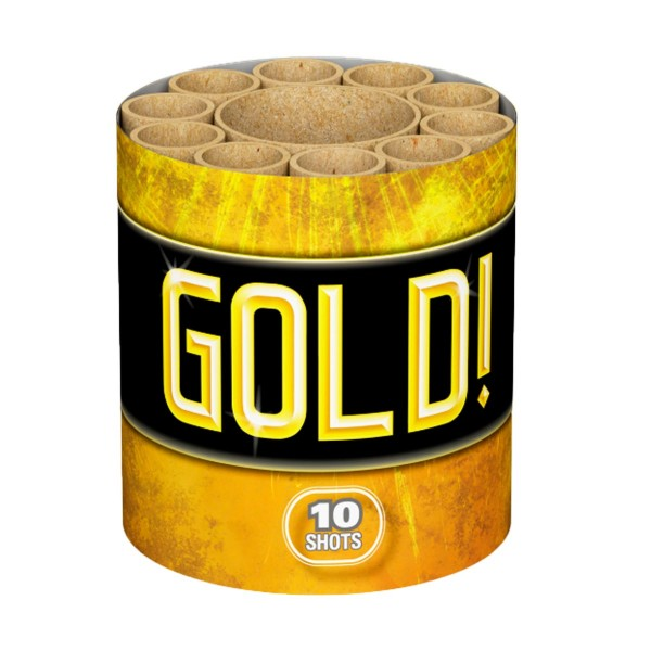 Gold Batteriefeuerwerk Lesli Feuerwerk