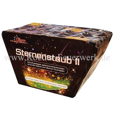 Sternenstaub II Batteriefeuerwerk Röder Feuerwerk