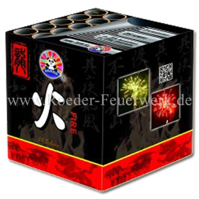 Fire Batteriefeuerwerk panda Feuerwerk
