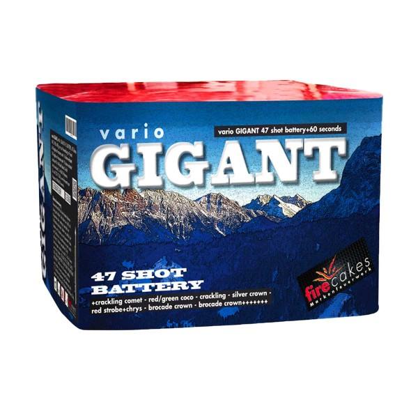 vario GIGANT Batteriefeuerwerk Fireevent Fireevent