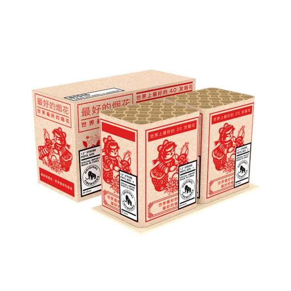 Strobe Pistil Box 1er-Kiste Verbundfeuerwerk Zena Feuerwerk