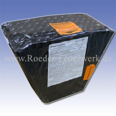 Gold Eruption Kategorie F3 Batteriefeuerwerk Blackboxx Fireworks