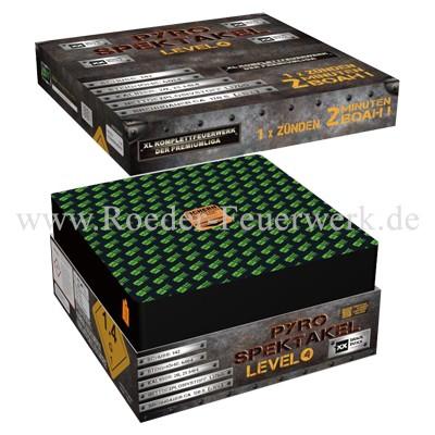 Pyro Spektakel Level 4 Verbundfeuerwerk Blackboxx Fireworks