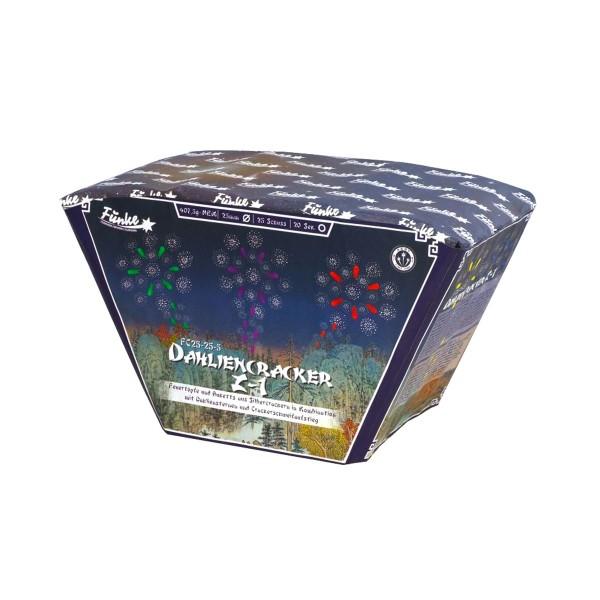 Dahliencracker Z-1 (FC25-25-5) Batteriefeuerwerk funke