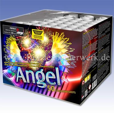 Angel JW802 Kategorie F3 Batteriefeuerwerk Jorge Feuerwerk