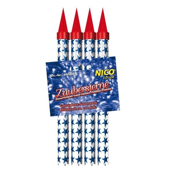 Nico Zaubersterne 100s 4er Jugendfeuerwerk Jugendfeuerwerk Nico Feuerwerk