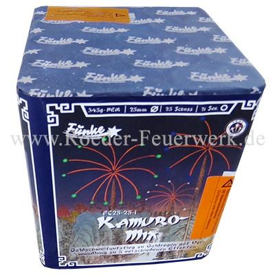Kamuro-Mix (FC25-25-1) Batteriefeuerwerk funke