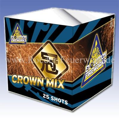 Crown Mix 2er- Kiste Batteriefeuerwerk evolution Feuerwerk