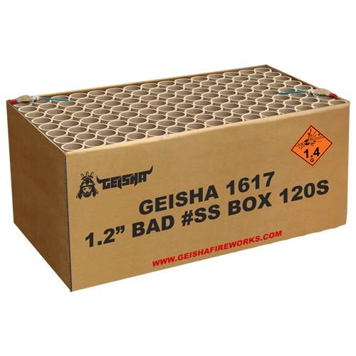 Bad Ass Box Batteriefeuerwerk Geisha Geisha