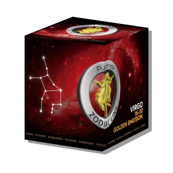 Golden Emotion - Virgo von PGE Pyrotrade online bestellen