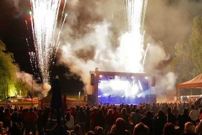 musiksynchrones Feuerwerk für Konzert und OpenAir