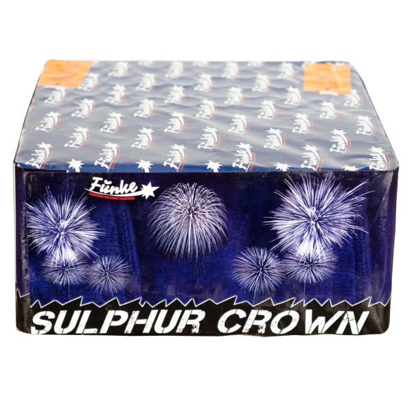Sulphur Crown Kategorie F3 Batteriefeuerwerk Funke