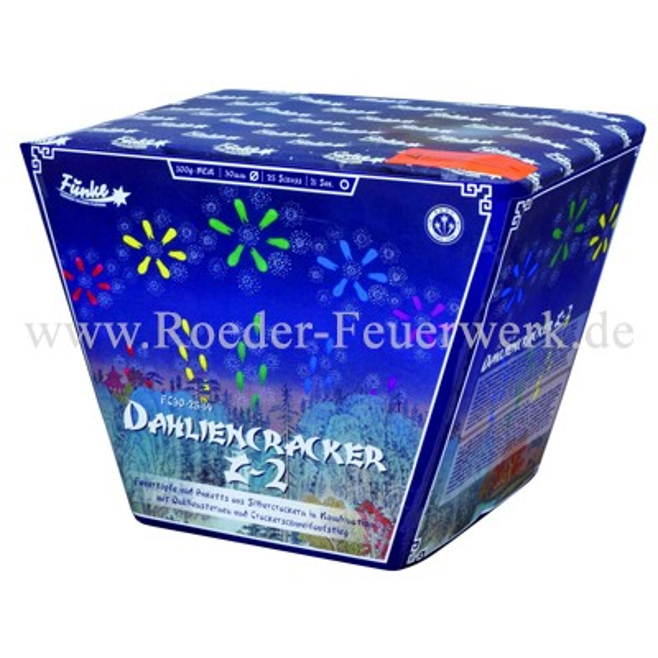 Dahliencracker Z2 FC30-25-14 Batteriefeuerwerk funke