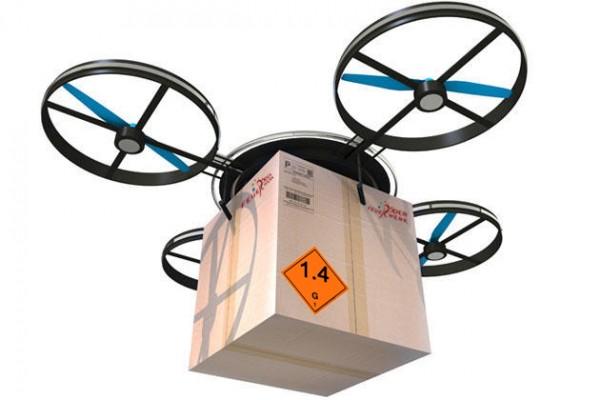 Feuerwerkskoerper-Versand-Drohne