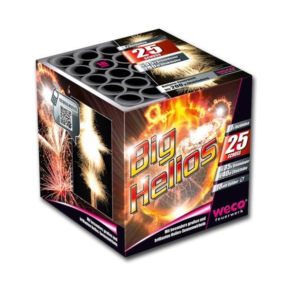 Big Helios Batteriefeuerwerk weco feuerwerk