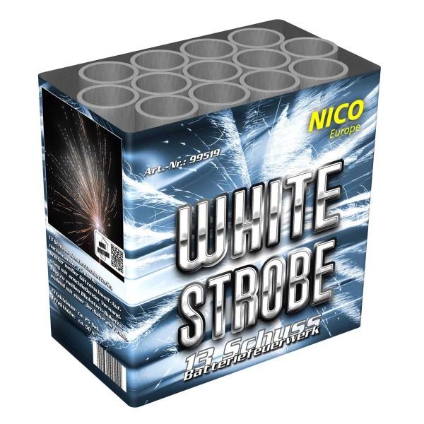 White Strobe Batteriefeuerwerk nico Feuerwerk