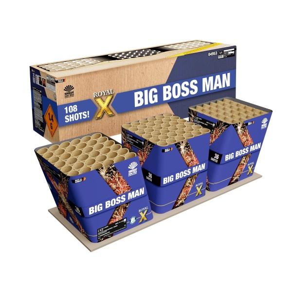 Big Boss Man Verbundfeuerwerk Lesli Feuerwerk