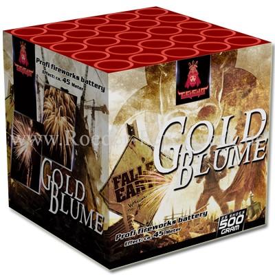 Goldblume 2er- Kiste Batteriefeuerwerk Röder Feuerwerk