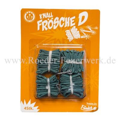 Frosch D 4 Stück Knallartikel Funke Knallartikel Funke