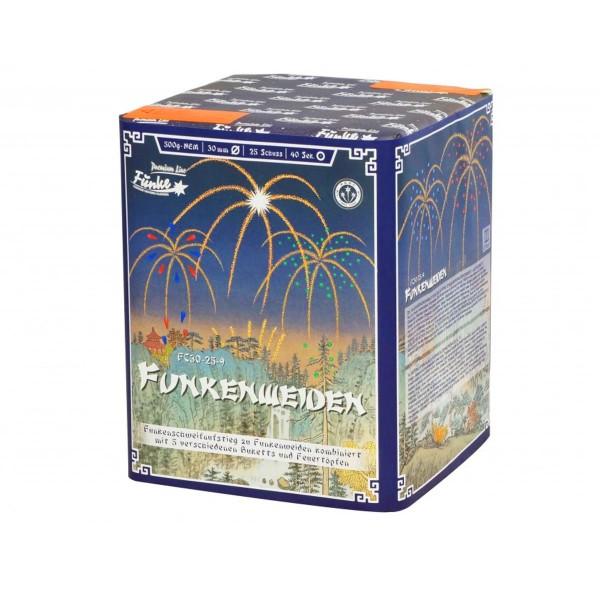 Funkenweiden FC30-25-9 Batteriefeuerwerk funke