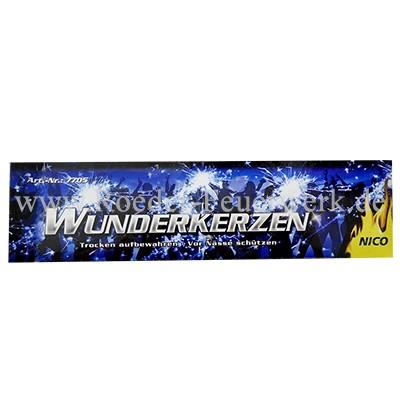 Wunderkerzen 18cm 10er-Brief Jugendfeuerwerk Wunderkerzen Bengalfackeln Nico Feuerwerk