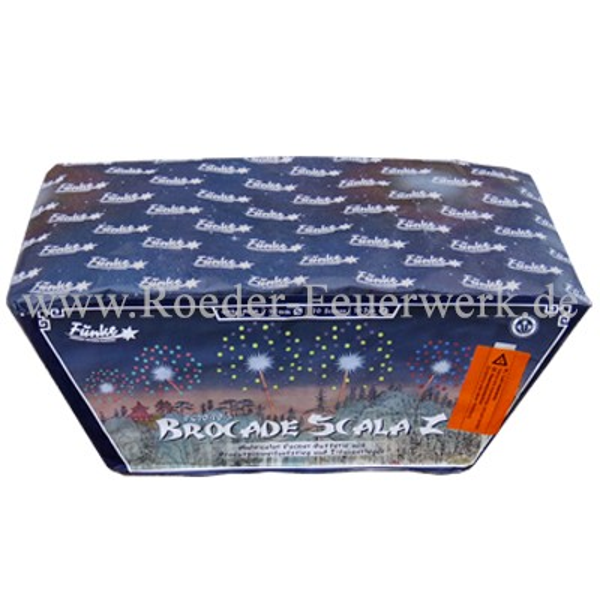 Brocade Scala-Z(FC20-70-3) Batteriefeuerwerk funke