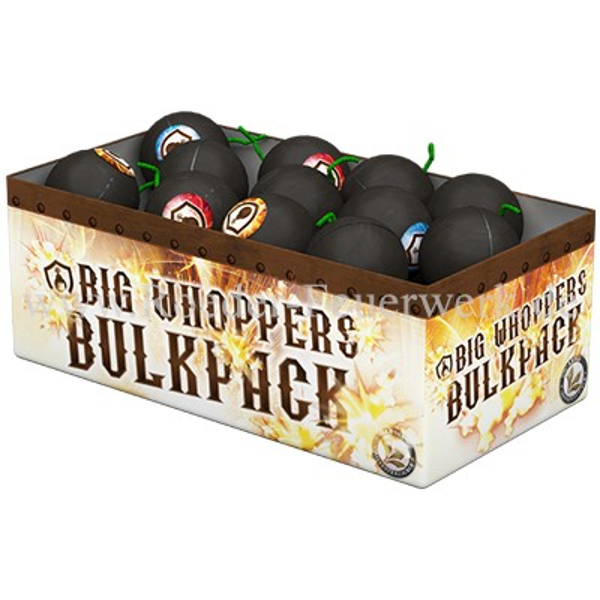 Big Whoppers Bulkpack Leuchtfeuerwerk Fontänen Lesli Feuerwerk