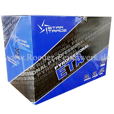 Professional ETA Batteriefeuerwerk Startrade Startrade