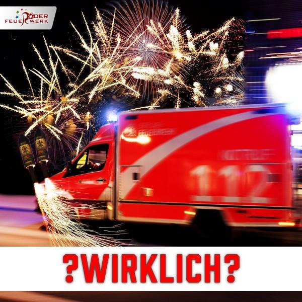 Feuerwerk-Verletzungen