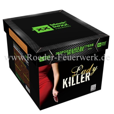 Ladykiller Batteriefeuerwerk Blackboxx Fireworks