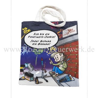 Baumwolltasche Merchandising Werbemittel Röder Feuerwerk