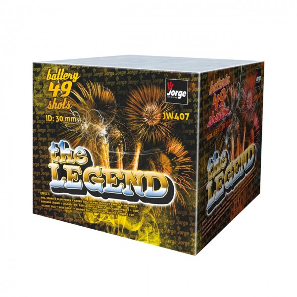 The Legend Kategorie F3 Batteriefeuerwerk Jorge Feuerwerk