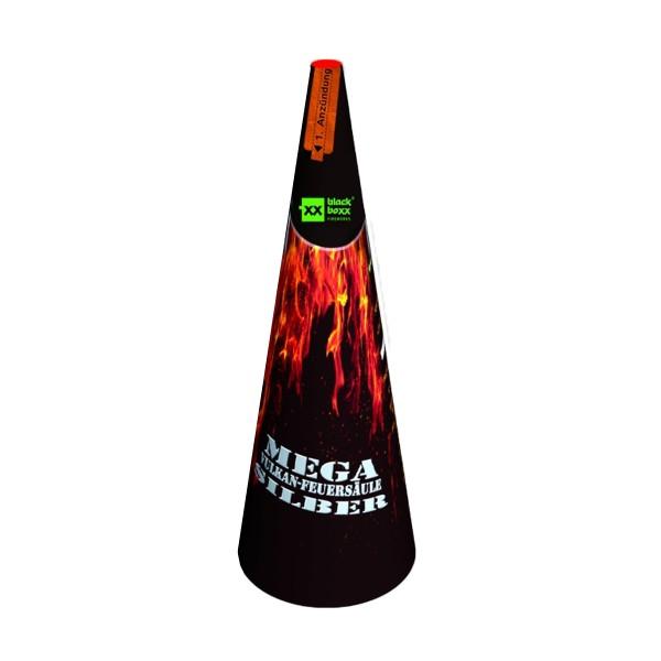 Mega- F3- Vulkan Silber Kategorie F3 Leuchtfeuerwerk Blackboxx Fireworks