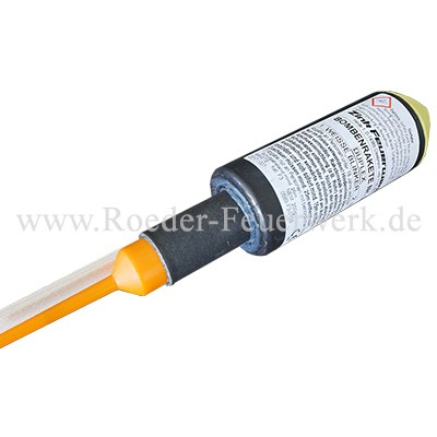 Zink 920 Duplex Bombenrakete Kategorie F3 Raketen Zink Feuerwerk