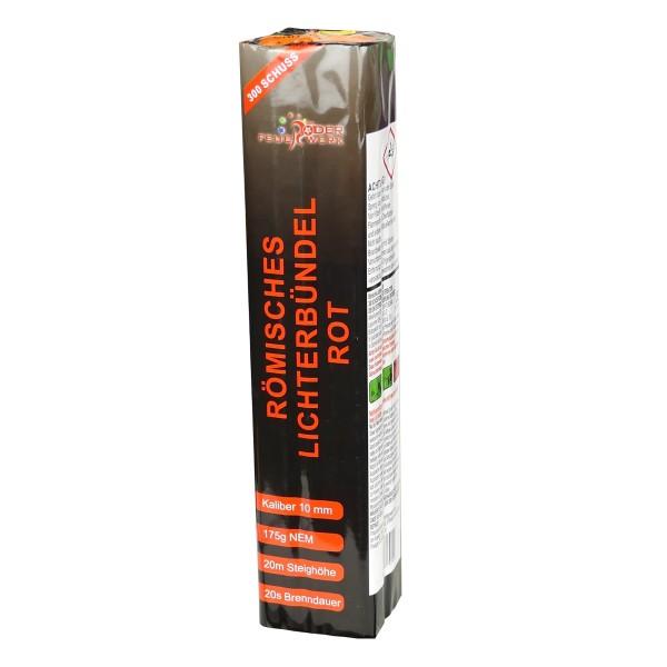 Römisches Lichterbündel rot Batteriefeuerwerk Röder Feuerwerk