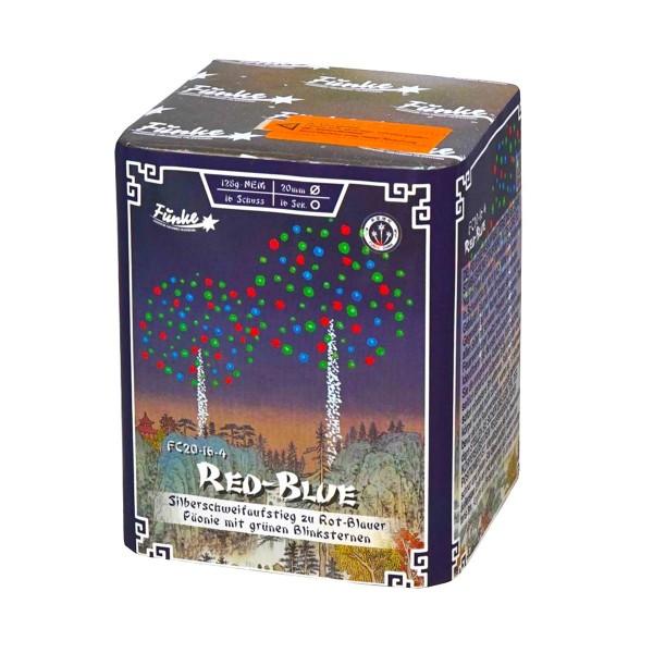Red-Blue FC20-16-4 Batteriefeuerwerk funke