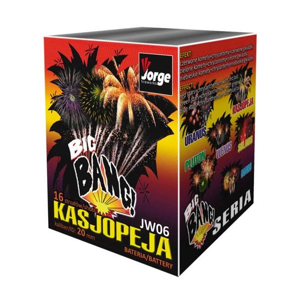 Kasjopeja Batteriefeuerwerk Jorge Feuerwerk