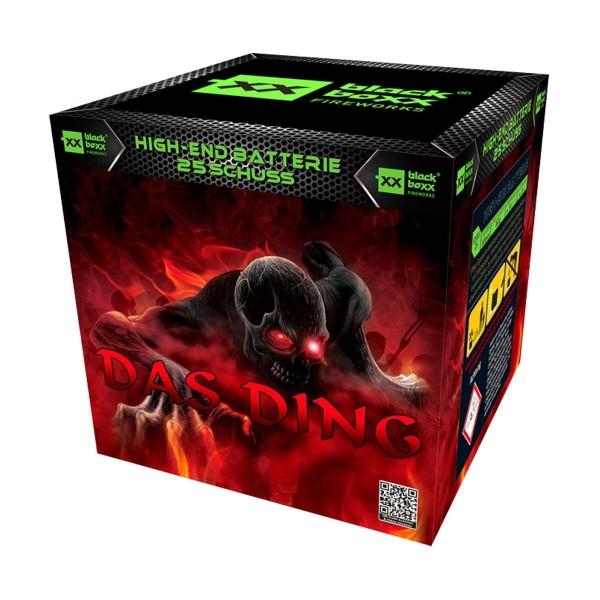 Das Ding Batteriefeuerwerk Blackboxx Fireworks