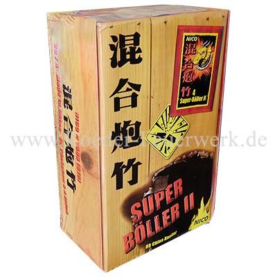Super Böller II Umkarton Knallartikel Chinaware Nico Feuerwerk