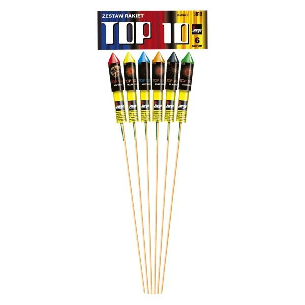 Top 10 Raketensortiment Raketen und Sortimente Raketensortimente Jorge Feuerwerk