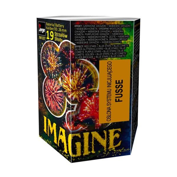 Imagine (JW107) Batteriefeuerwerk Jorge Feuerwerk