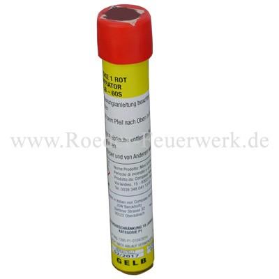 JGWB Rauch-Handfackel Gelb (Mini Smoke) Bühnenfeuerwerk Paintball JGW Berckholtz