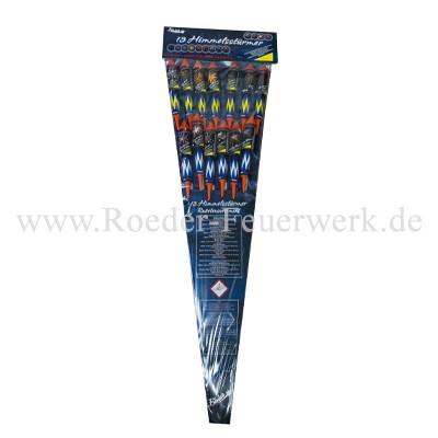 13 Himmelsstürmer Raketen und Sortimente Funke Raketen Funke