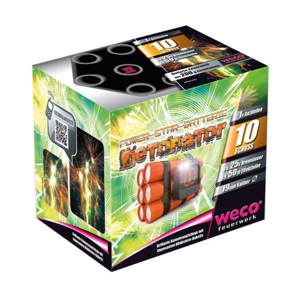 Decathlon/ Detonator Batteriefeuerwerk weco feuerwerk