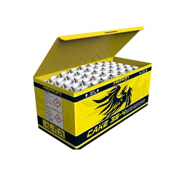 Cake 35- 4 Batteriefeuerwerk Heron Feuerwerk