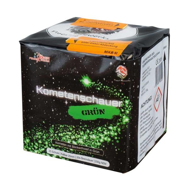 Feuerwerkskörper Kometenschauer Grünglitter von Röder Feuerwerk