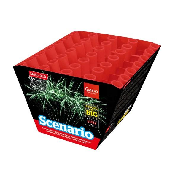Scenario Batteriefeuerwerk Gaoo