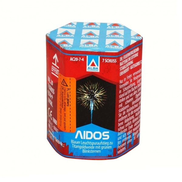 Funke Aidos kleine Feuerwerksbatterie