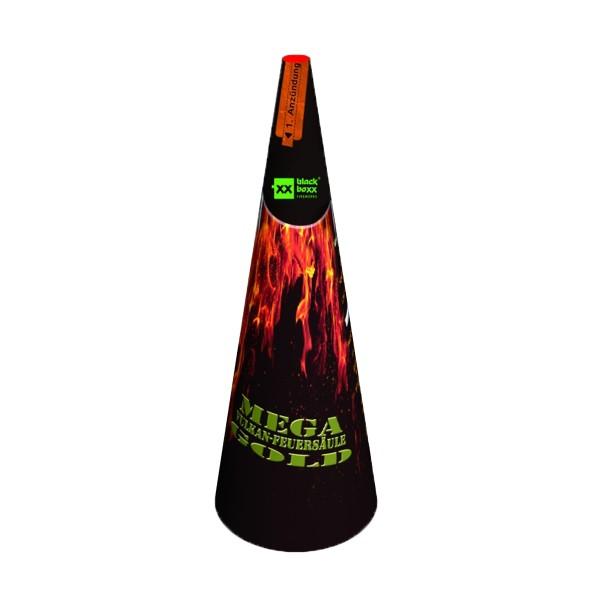 Mega- F3- Vulkan Gold Kategorie F3 Leuchtfeuerwerk Blackboxx Fireworks